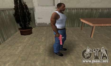 Red Chest Deagle para GTA San Andreas tercera pantalla