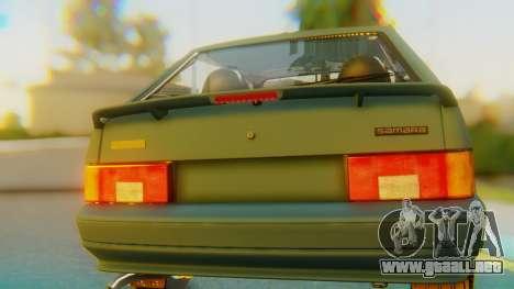 VAZ 2113 Stoke para visión interna GTA San Andreas
