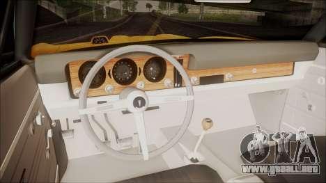Pontiac GTO 1968 para GTA San Andreas vista hacia atrás