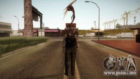 RE4 Don Hose Plagas para GTA San Andreas tercera pantalla