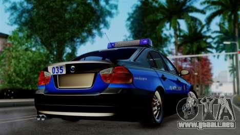 BMW 330i E46 YPX para GTA San Andreas left