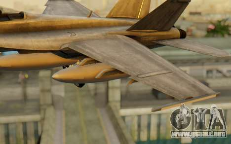 FA-18F Super Hornet BF4 para la visión correcta GTA San Andreas
