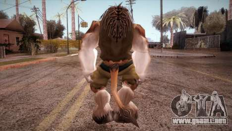 El Tauren para GTA San Andreas tercera pantalla
