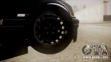 BMW M5 E36 para GTA San Andreas vista posterior izquierda