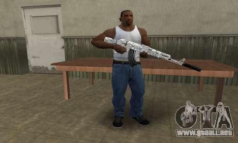 Camper AK-47 para GTA San Andreas tercera pantalla