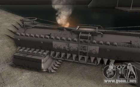 El trailer de Mad Max camión para GTA San Andreas left