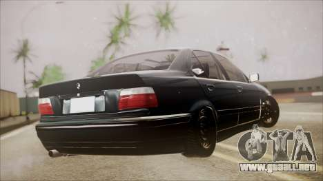 BMW M5 E36 para GTA San Andreas left