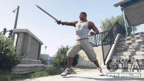 Master Sword para GTA 5