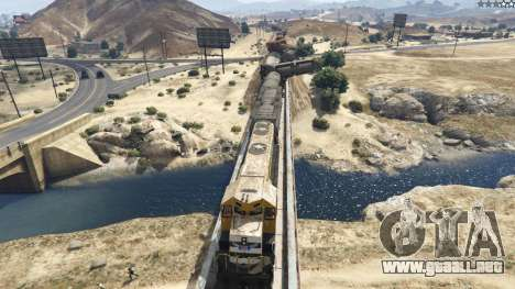 GTA 5 Improved freight train 3.8 cuarto captura de pantalla