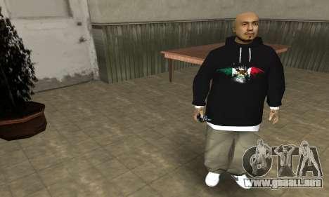 Rifa Skin First para GTA San Andreas tercera pantalla