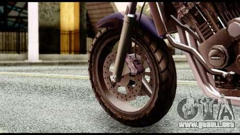 Ducati FCR-900 v4 para GTA San Andreas vista posterior izquierda