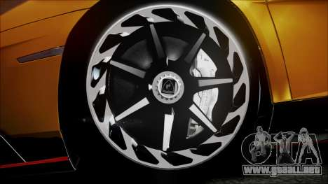 Lamborghini Veneno LP700-4 AVSM Roadster Version para la visión correcta GTA San Andreas