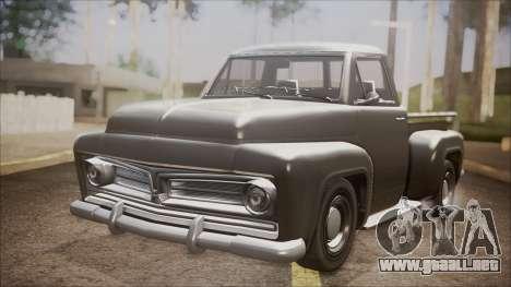 GTA 5 Vapid Slamvan Pickup para GTA San Andreas