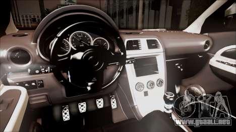 Subaru Impreza WRX STI B. O. Construction para la visión correcta GTA San Andreas