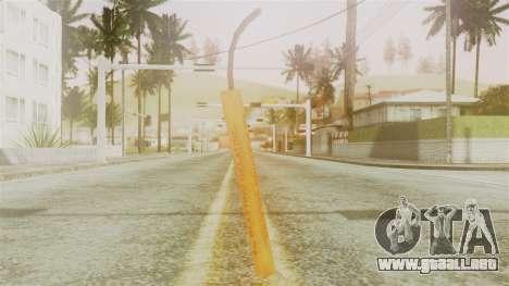 Red Dead Redemption TNT Diego Elegant para GTA San Andreas segunda pantalla