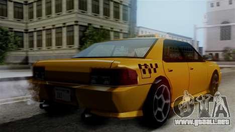 Sultan Taxi para GTA San Andreas left