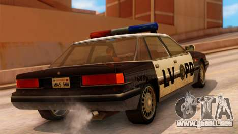 Police LV Intruder para GTA San Andreas left