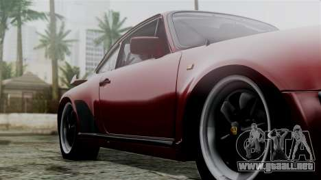 Porsche 911 Turbo (930) 1985 Kit C para GTA San Andreas