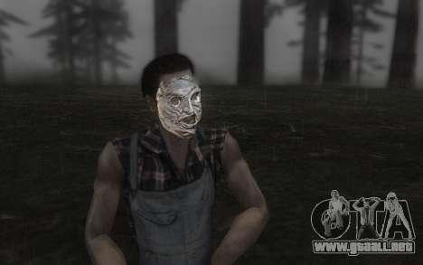 El Cuero de la máscara de la cara para GTA San Andreas