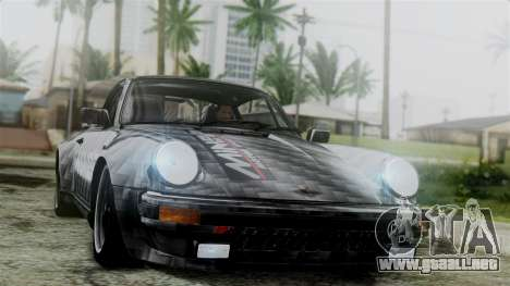Porsche 911 Turbo (930) 1985 Kit C para vista inferior GTA San Andreas