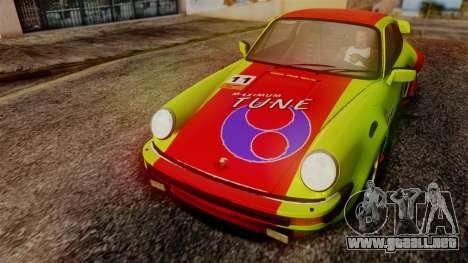 Porsche 911 Turbo (930) 1985 Kit A PJ para visión interna GTA San Andreas