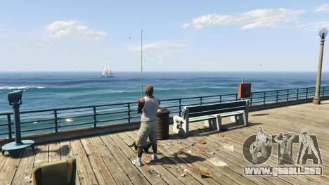 GTA 5 Fishing Mod 0.2.7 BETA décima captura de pantalla
