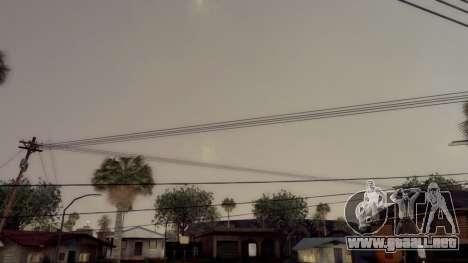 Natural y Realista ENB para GTA San Andreas quinta pantalla