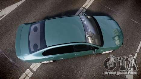 Ford Falcon FG XR6 Turbo para GTA 4 visión correcta