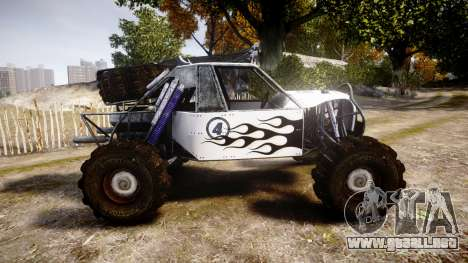 Buggy Fireball para GTA 4 left