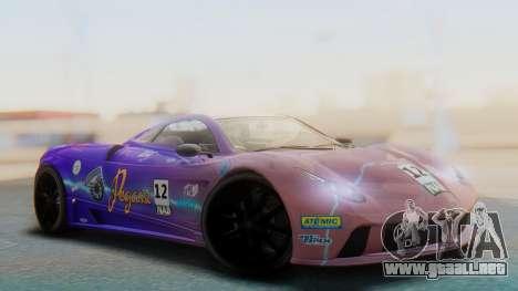GTA 5 Pegassi Osiris IVF para vista inferior GTA San Andreas