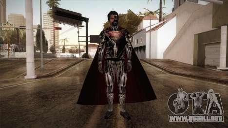 Superman Cyborg v1 para GTA San Andreas segunda pantalla