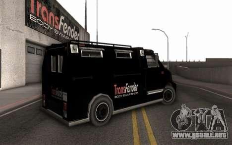 Máquina de la entrega de piezas de ajuste para GTA San Andreas left