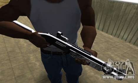 Black Shotgun para GTA San Andreas