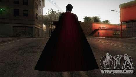 Superman Cyborg v1 para GTA San Andreas tercera pantalla