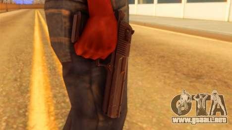 Atmosphere Desert Eagle para GTA San Andreas tercera pantalla