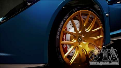 Hennessey Venom GT 2012 U.S.A American para GTA San Andreas interior