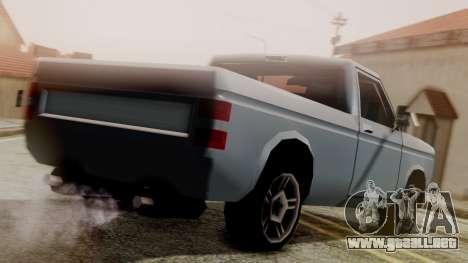 Bobcat New Edition para GTA San Andreas left