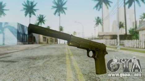 Silenced M1911 Pistol para GTA San Andreas