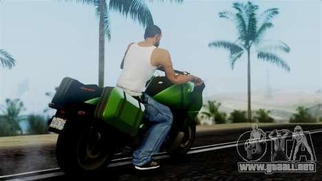 Dinka Vindicator GTA 5 Plate para GTA San Andreas left