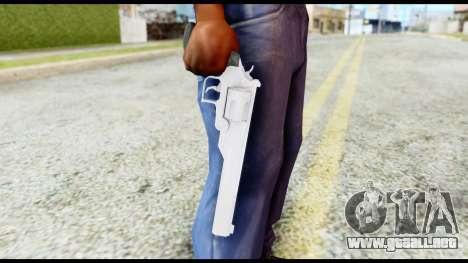 Desert Eagle from Resident Evil 6 para GTA San Andreas tercera pantalla