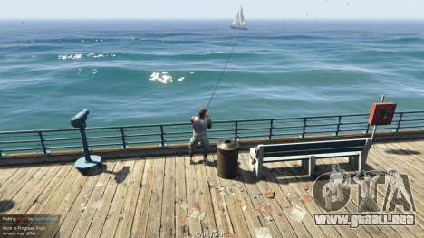 GTA 5 Fishing Mod 0.2.7 BETA segunda captura de pantalla