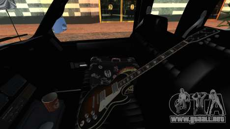 GMC Sierra 2500 Extended Cab 1992 para GTA San Andreas vista hacia atrás