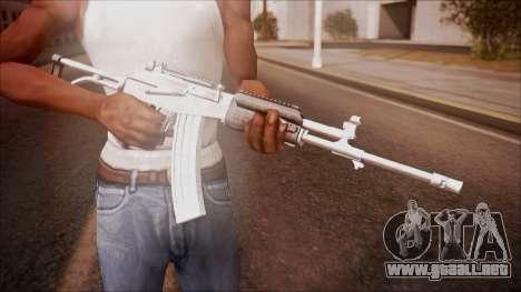 Galil AR v1 from Battlefield Hardline para GTA San Andreas tercera pantalla