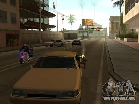 Manual Driveby para GTA San Andreas segunda pantalla