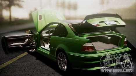 BMW M3 GTR Street Edition para las ruedas de GTA San Andreas