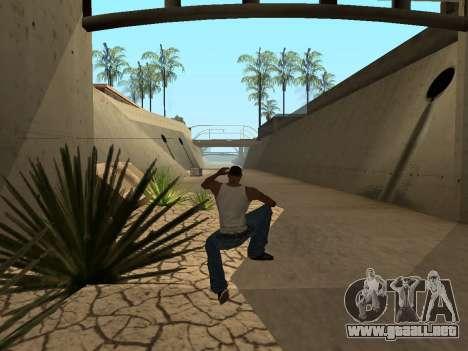 Ped.ifp Animación Gopnik para GTA San Andreas sexta pantalla