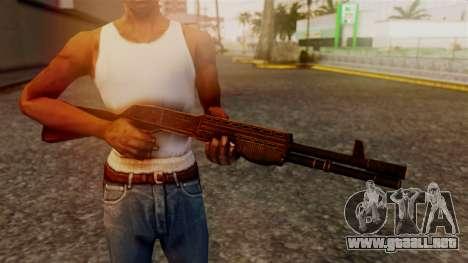 BlueSteel Shotgun para GTA San Andreas tercera pantalla