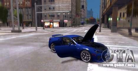Lexus LF-A 2010 [EPM] para GTA 4 visión correcta