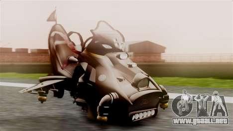 NRG Moto Jet Buzz Dirt Model para GTA San Andreas