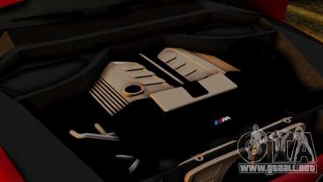 BMW 7 Series F02 2013 para vista inferior GTA San Andreas